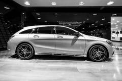 Edición ejecutiva del pico del CLA 220d de la CLA-clase de Mercedes-Benz del coche del Subcompact fotos de archivo libres de regalías