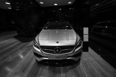 Edición ejecutiva del pico del CLA 220d de la CLA-clase de Mercedes-Benz del coche del Subcompact foto de archivo libre de regalías