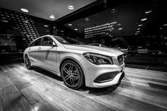 Edición ejecutiva del pico del CLA 220d de la CLA-clase de Mercedes-Benz del coche del Subcompact fotografía de archivo libre de regalías