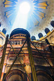 Edicule Holy Sepulchre inside royalty free stock image