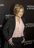 Edie Falco Attends NBR concede a gala Imagens de Stock Royalty Free