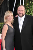 Edie Falco, James Gandolfini Royalty Free Stock Image