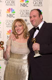 Edie Falco,James Gandolfini Stock Photo