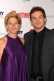 Edie Falco,Michael C. Hall Royalty Free Stock Photos