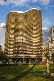 EdifÃcio Niemeyer, hyreshus som planläggs av Oscar Niemeyer, Belo Horizonte, Minas Gerais arkivbilder