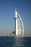 Edifício árabe do hotel de Burj Fotos de Stock Royalty Free