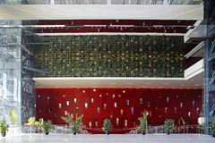 Edifício 2010 da expo do mundo de Shanghai Fotos de Stock