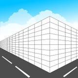 edifício ilustração stock