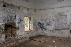 Edifício abandonado Imagem de Stock Royalty Free