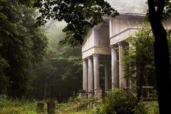 Edifício abandonado imagem de stock