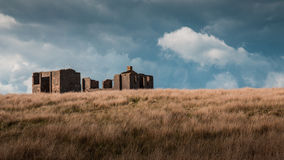 Edifício abandonado Fotos de Stock Royalty Free