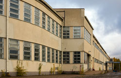 Edifício abandonado da fábrica Fotos de Stock
