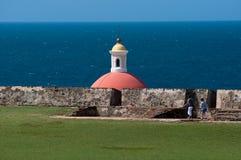 Edifício abobadado, San Juan velho Imagem de Stock