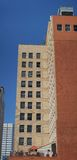 Edifício alaranjado alto Foto de Stock