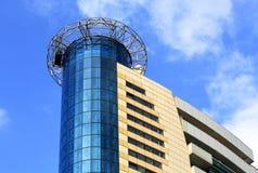 Edifício alta tecnologia do estilo Imagem de Stock