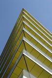 Edifício amarelo moderno Fotografia de Stock