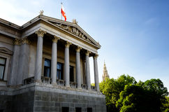 Edifício austríaco do parlamento foto de stock royalty free