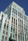 Edifício azul Foto de Stock