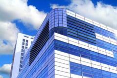 Edifício azul Fotos de Stock