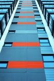 Edifício azul moderno imagem de stock royalty free