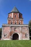 Edifício bonito. Torre de Mostovaya Imagem de Stock Royalty Free
