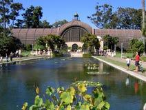 Edifício botânico no parque do balboa, San Diego fotografia de stock royalty free