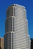 Edifício branco moderno Imagem de Stock Royalty Free