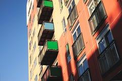 Edifício colorido Imagem de Stock