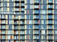 Edifício com balcões Imagens de Stock