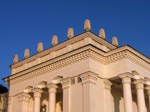 Edifício com colunas Fotos de Stock