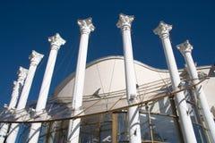 Edifício com colunas Fotografia de Stock