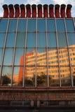 Edifício com condição do ar no telhado Fotografia de Stock Royalty Free