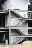 Edifício com escadaria Imagem de Stock Royalty Free