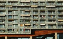 Edifício com planos modernos Imagens de Stock Royalty Free