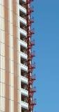 Edifício com um fire-escape Fotos de Stock Royalty Free
