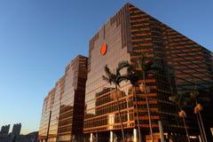 Edifício comercial dourado Imagem de Stock