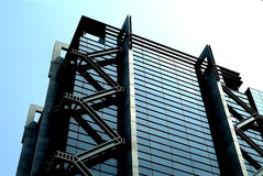 Edifício comercial moderno Foto de Stock Royalty Free
