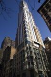 Edifício comercial moderno NYC Imagem de Stock Royalty Free