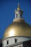 Edifício comum de Boston no por do sol Imagem de Stock Royalty Free