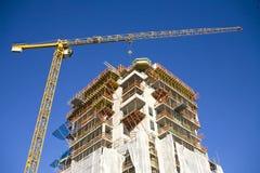 Edifício concreto Imagens de Stock