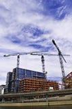 Edifício concreto em Éstocolmo Imagens de Stock Royalty Free