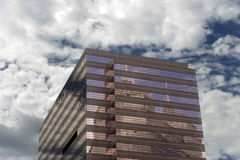 Edifício cor-de-rosa Foto de Stock Royalty Free