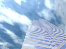 Edifício corporativo 05 ilustração do vetor
