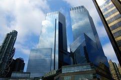 Edifício corporativo futurista imagem de stock royalty free