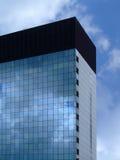 Edifício corporativo geométrico Fotos de Stock