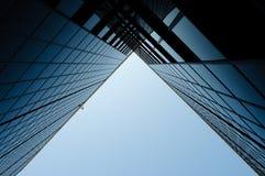 Edifício corporativo moderno Imagens de Stock Royalty Free