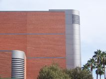 Edifício curvado Foto de Stock Royalty Free