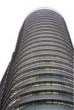 Edifício curvado Fotografia de Stock Royalty Free