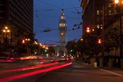Edifício da balsa de San Francisco Fotografia de Stock