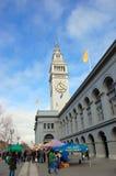 Edifício da balsa de San Francisco, EUA Foto de Stock